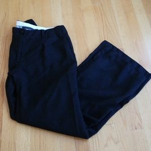 Black Wide Leg Dress Pants